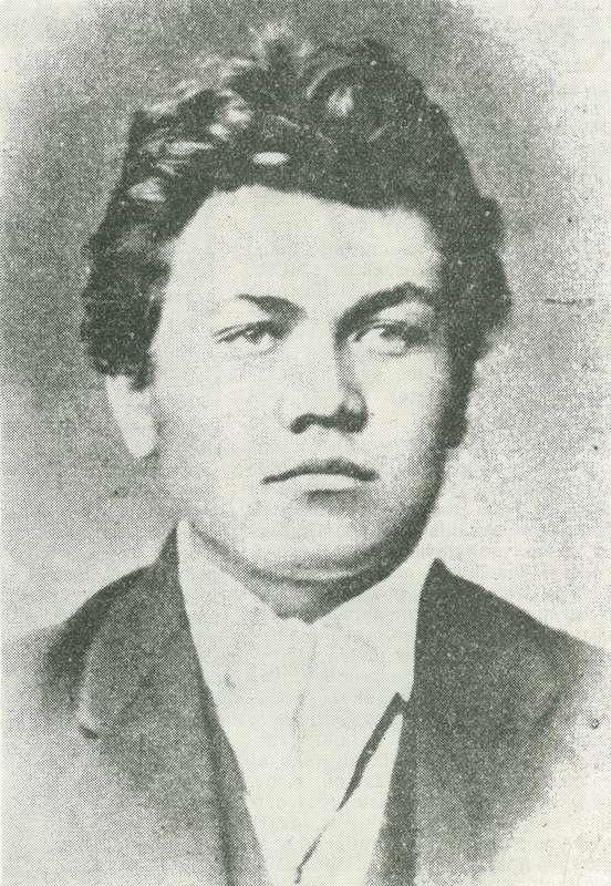 Pavol Országh - portrétna fotografia zo študentského obdobia.