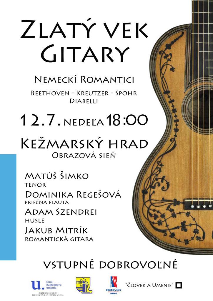Zlatý vek gitary - plagát